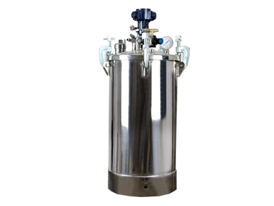 Pressure Feed Container with Pneumatic Stirrer 22 Liter