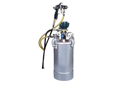 Pressure Feed Container With Stirrer And Gun 10 Ltr