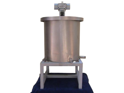 Stainless Steel Container with Oscillatory Stirrer