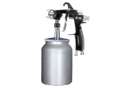 Suction Cup Feed Spray Gun W 106S